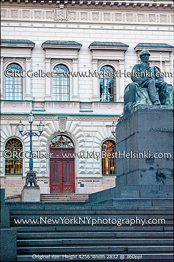 Bank of Finland - Suomen Pankki, italianate Renessaince style