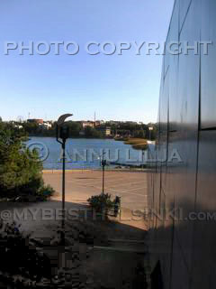 Finlandia House Marble reflection. - Photo © Annu Lilja. All Rights Reserved.