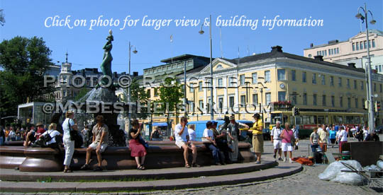 Havis Amanda at the Market Square in Helsinki. All photos © RC Gelber. All rights reserved.