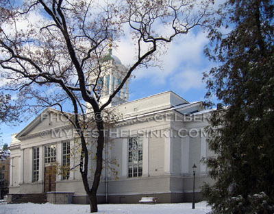 Helsinki's Old Church - Vanha Kirkko. ALL photos and images © R.C.Gelber. All Rights Reserved.