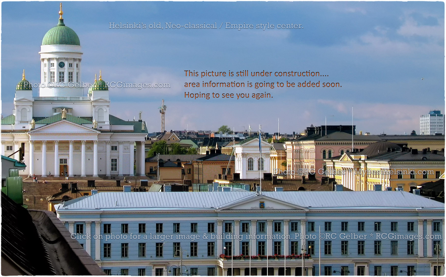 Architecture Of Helsinki: Helsinki's Old Empire Center. All Photos © RC Gelber. All