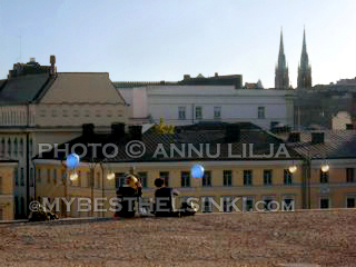 City view from Helsinki Dome. Photo © Annu Lilja 2008 -