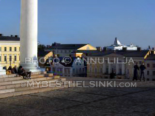 Views from Helsinki Cathedral. Photo © Annu Lilja 2008 -