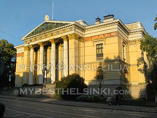 House of the estates, Helsinki. Photo © Annu Lilja 2008 -