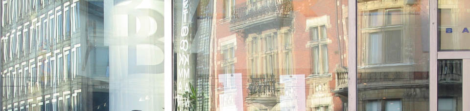 Reflections along Mannerheimintie. Photo & pop-up photo © R.C. Candolin-Gelber 1999 - 2010 -