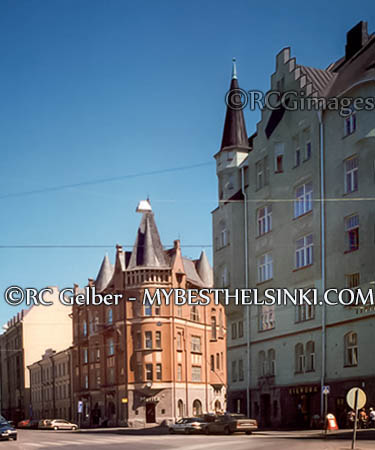 Walk in the old part of Katajanokka, if you have the time.
