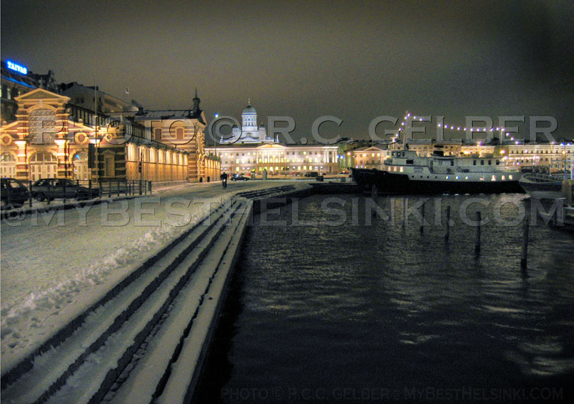 South Harbor in the winter. - All photos © RC Gelber. All Rights Reserved.
